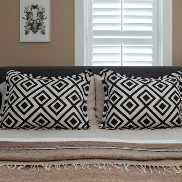 com designer pillow shams from customers' own material